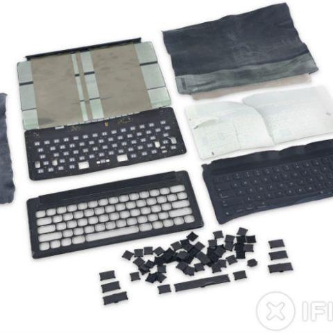 Apple's iPad Pro Smart Keyboard gets 0 in iFixit teardown