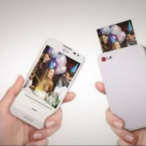 LG launches the PD233 Pocket Photo printer for wireless printing