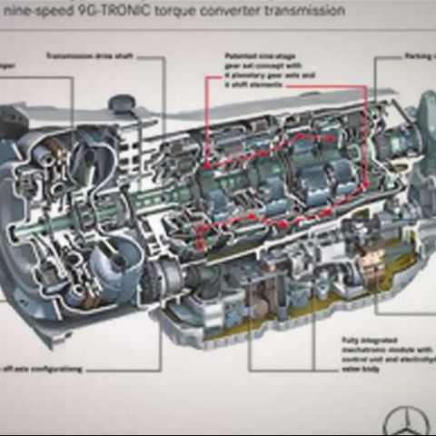 Mercedes details the 9-speed automatic transmission