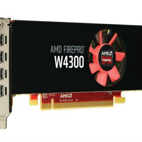 AMD launches FirePro W4300 graphics card