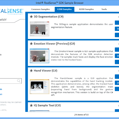 Building Gesture Recognition Web Apps with Intel RealSense SDK