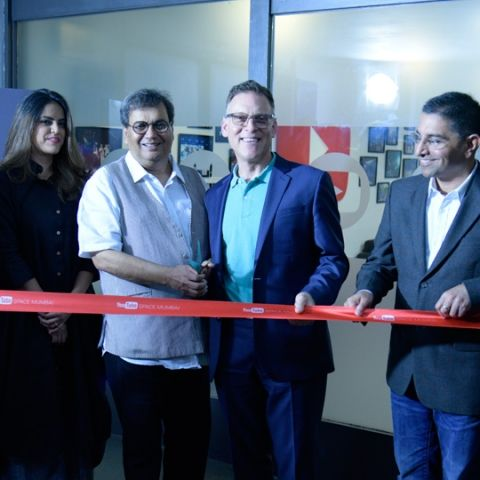 YouTube Space launched in Mumbai