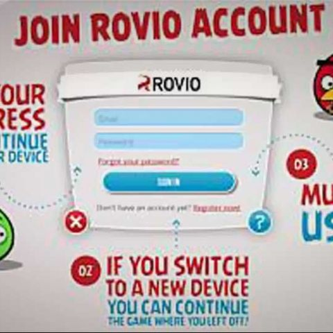 Rovio Accounts for Android and iOS launched globally