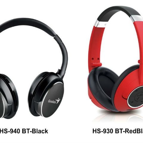 Genius launches HS-940 BT and HD-930 BT Bluetooth headsets