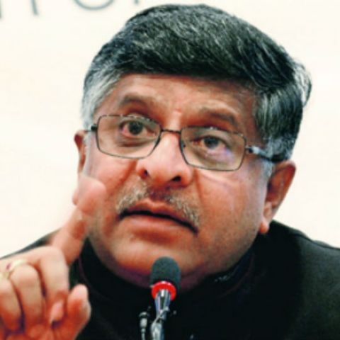 Improve your network or face grave consequences: Ravi Shankar Prasad