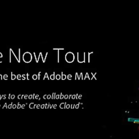 """Adobe Create Now tour kicks off in New Delhi, brings the """"Best of Max"""""""