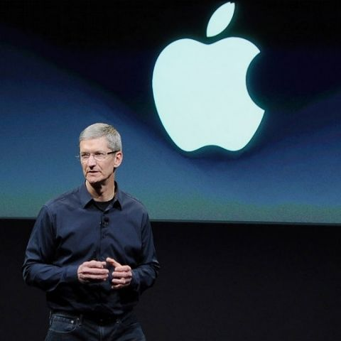"Appel CEO Tim Cook says companies that collect user data to improve products are ""a bunch of bunk"""