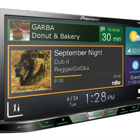 Pioneer launches new range of touch screen AV players