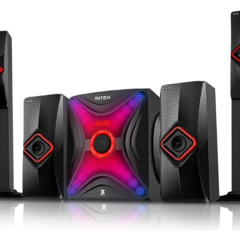 Intex launches 4.1 channel speaker, priced at Rs. 10,500