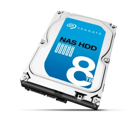 Seagate announces new NAS HDD in storage capacities of upto 8TB