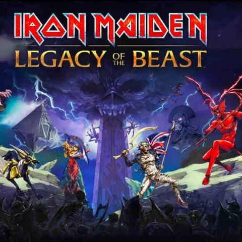 Mosh with Iron Maiden in role-playing game for iOS and Android