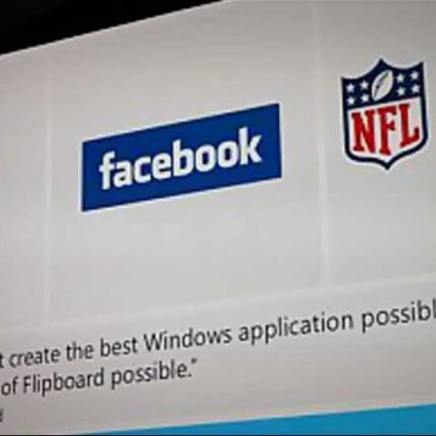 Official Facebook and Flipboard apps coming to Windows 8