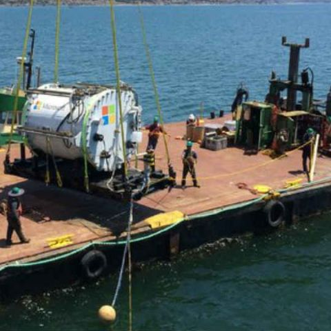 Microsoft plans to house future data centers below the ocean surface