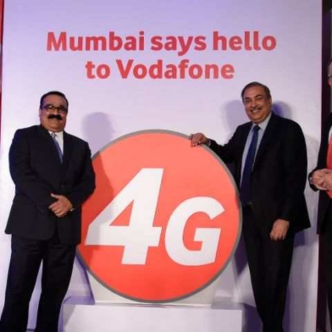 Vodafone 4G services launched in Mumbai