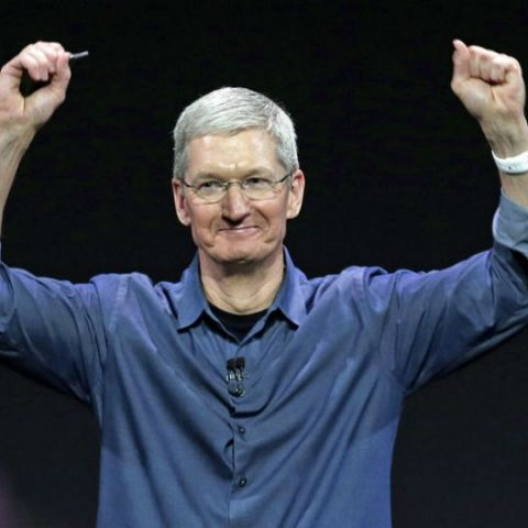 Apple CEO Tim Cook confirms work on self-driving cars for the first time