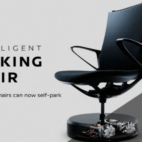 Nissan has uber-cool self-parking chairs in its office!