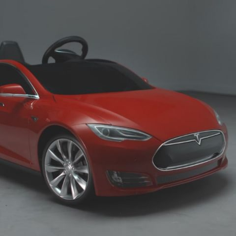 Now you can buy a Tesla Model S for your children