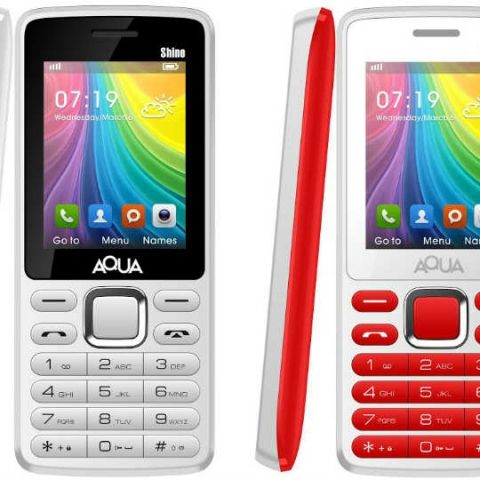 6a35ed9cf1e Aqua Shine feature phone launched at Rs. 1