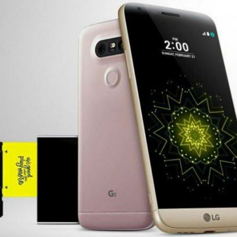 LG G5 to be launched in India on June 1