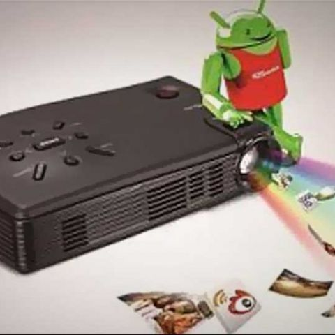 Portronics launches Androview pico projector for Android at Rs. 28,999