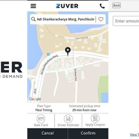 On demand driver service Zuver starts operations
