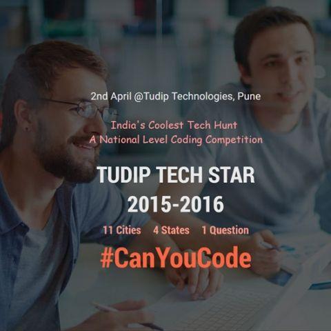 TudipTechStar 2016 winners announced