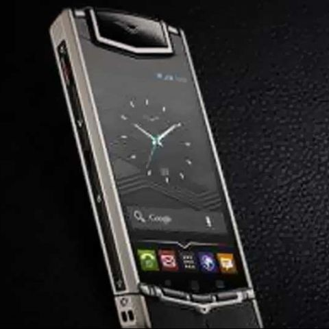 d7862fecd Vertu Ti luxury smartphone launches in India at Rs. 6