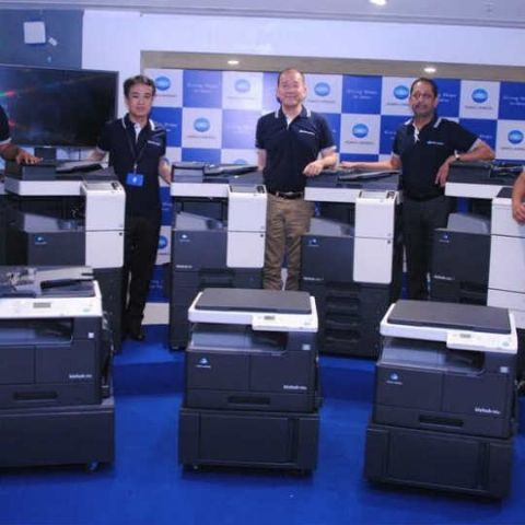 Konica Minolta launches new range of office and production printers