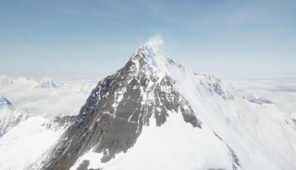 Now climb up Mount Everest in virtual reality