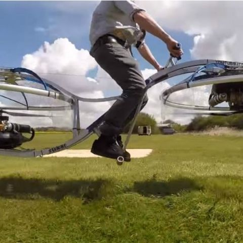 Meet the insane hoverbike created by innovator Colin Furze
