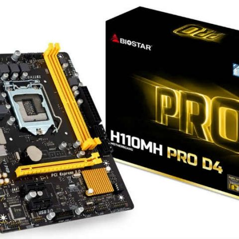 Biostar H110MH PRO D4 motherboard launched at Rs. 4,999