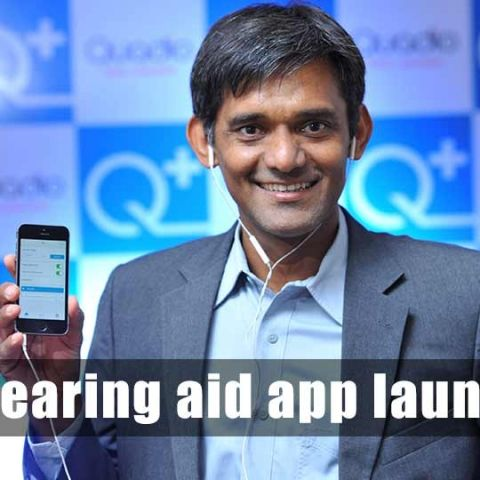 Q+ India's first ever smartphone-based hearing aid app launched