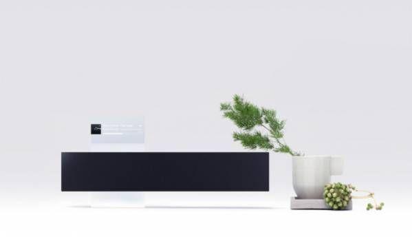 Meet Meizu's Gravity speaker, with a floating display