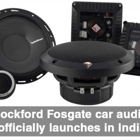 Rockford Fosgate car audio officially launches in India