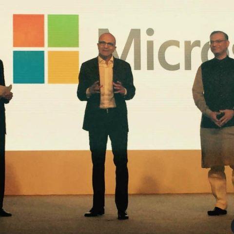 Microsoft CEO Satya Nadella quotes Ghalib at 'Tech for Good' meetup in India
