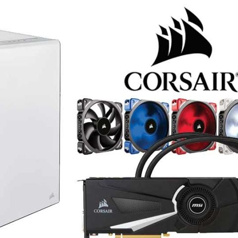 Corsair launches new memory sticks, LED case fans and a white Carbide 400C at Computex 2016