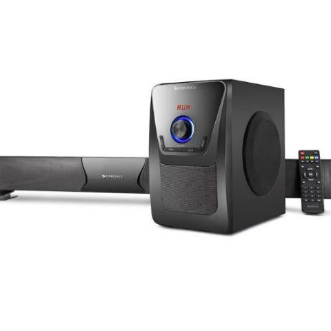 Zebronics Zeb Juke Bar 2 sound bar launched at Rs. 4,949