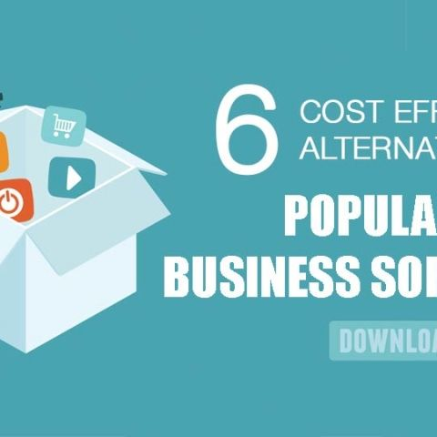 6 Cost effective alternatives to popular business software