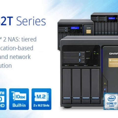 QNAP releases next generation Thunderbolt 2 NAS TVS-x82T series