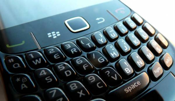 Physical keyboards still in demand, says BlackBerry