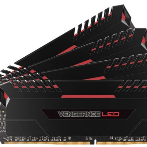 Corsair unveils its new Vengence LED series of DDR4 memory