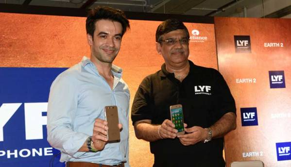 Reliance LYF unveils Earth 2 smartphone with retina unlock, priced at Rs 21,599