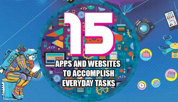 15 apps and websites to accomplish everyday tasks