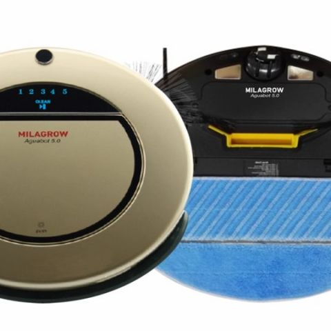 Milagrow Aguabot 5 0 Robotic Vacuum Cleaner Launched At Rs