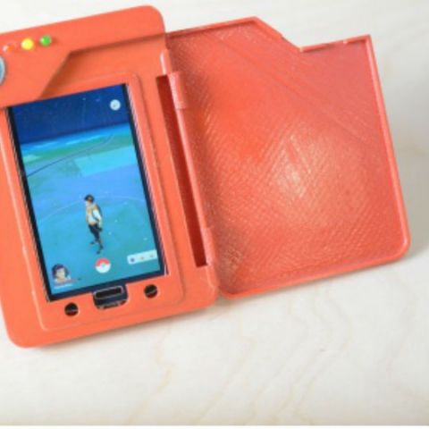 Playing Pokemon Go? Check out this 3D printed Pokedex that's also a power bank!