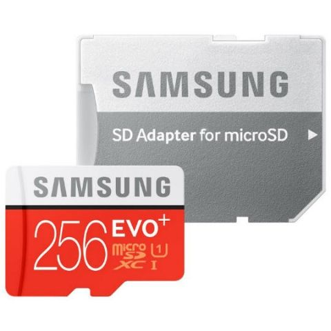 Samsung launched EVO Plus 256GB microSD card at Rs. 12,999