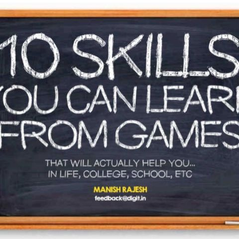 10 skills you can learn from games