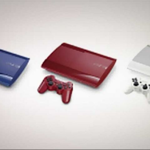 Sony PlayStation 3 becomes more colourful; with three new variants