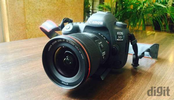 Canon EOS 5D Mark IV DSLR launched in India at Rs. 2,54,995