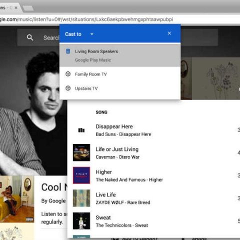 Google integrates Cast functionality into Chrome browser